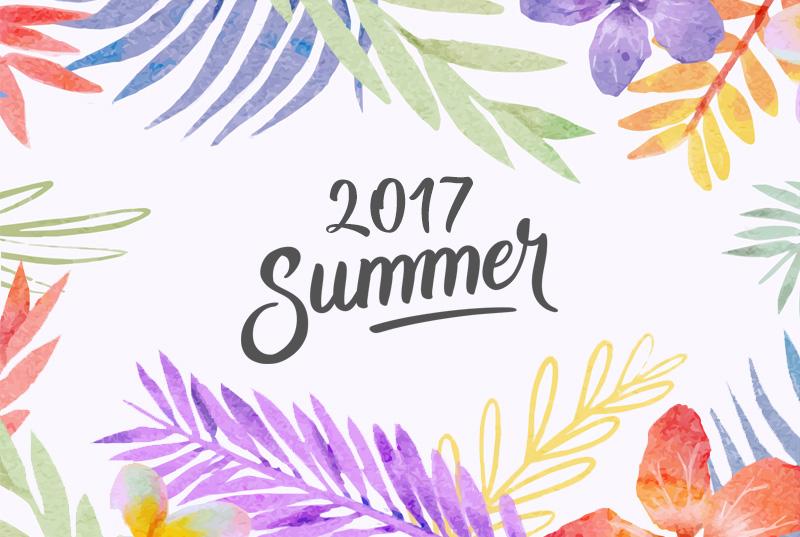 2017年夏季休業のお知らせ